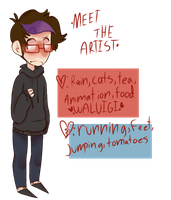 Lazy Meet The Artist Meme by obesi-tea
