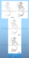Step by Step Tutorial: Ariel by ColorfulArtist86