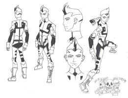 Young Justice OC: Blackout by AngelicHeresy