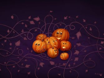 Where Pumpkins Are Born by vladstudio