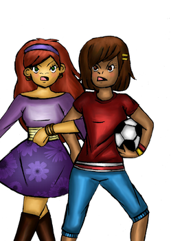 Muffy and Francine by Gabby413