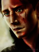 Loki - Blood by riotfaerie