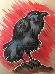 Nevermore by inktopia