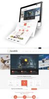 Sandbox Web Design by vasiligfx