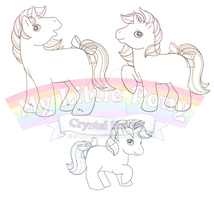 Unicorn Pony Preview by syrcaid