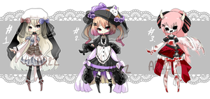 [CLOSED] Halloween batch #1 [ Set price ] by aririzia
