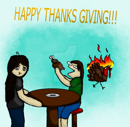 Happy Thanks Giving by Eossa