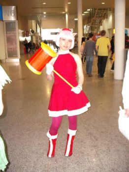 Amy Rose cosplay by Midnight1991