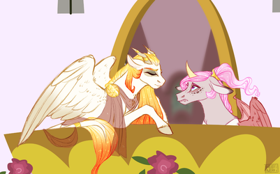 Princesses Don't Cry by butteredpawpcorn