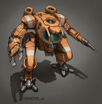 Contact - Submersible Exo Mech by Shimmering-Sword