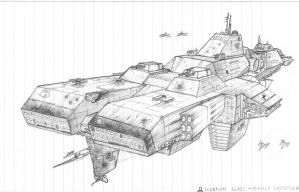 Scorpion Missile Destroyer by DissidentZombie