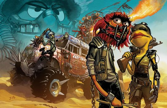 Mad Max Mayhem by JoopaDoops