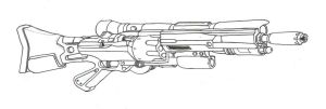 Revolver Sniper Rifle by AlphonseCapone
