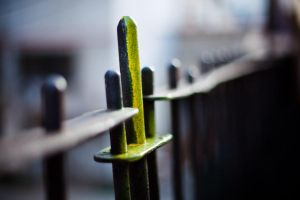 unfinished fence by S-t-r-a-n-g-e