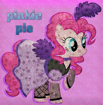 46 - Pinkie Pie Costume #2 (Pattern-Color Style) by Ov3rHell3XoduZ