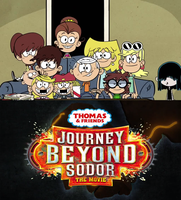 The Loud Kids ready to watch Journey Beyond Sodor by Wildcat1999