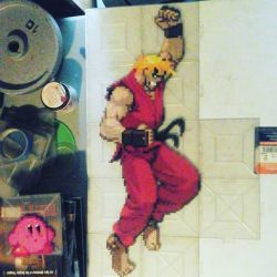 Ken Masters and Kirby by Sulley45635