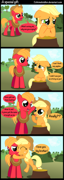 a special gift by Coltsteelstallion