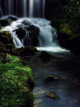 Waterfall of Silk by EmMelody