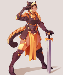Knight Fae by Viccatty