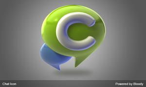 Chat Icon by tuziibanez