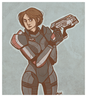 Lucy Shepard by rethe