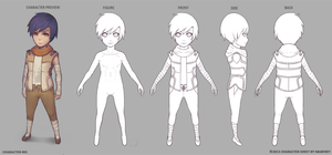 Character Sheet 01 by Marfrey