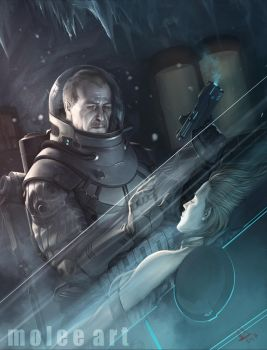 Victor Fries aka Mr.Freeze by molee