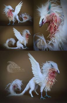 Iridescent Angel Phoenix Room Guardian FOR AUCTION by AnyaBoz