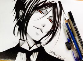 Sebastian Michaelis (Kuroshitsuji - Full) by YoungChanNguyen