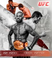 ufc fight poster by foxm13