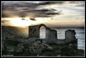 Ghostly Ruins by Kernow-Photography