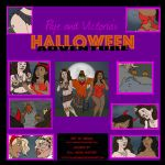 Paje and Victoria's Halloween Adventure by FullMoonMaster
