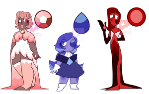 [OPEN] Canon Gem Adopts by starridge