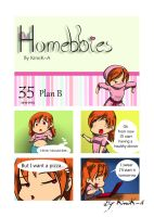 Homebbies 35 Plan B by KimiK-A