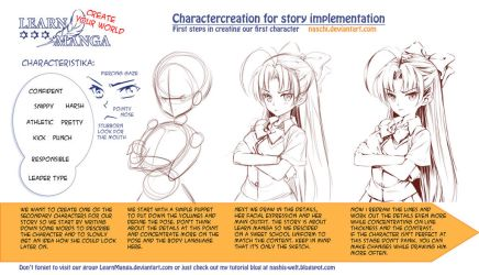 Learn Manga: Create your World - Charactercreation by Naschi