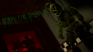 (FNaF SFM) Welcome to your nightmare... by Fer-Ge