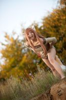 Horo / Holo - Spice and Wolf - [RAWR!] by GeniMonster