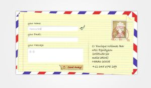 Free Contact Us Psd by hamzahamo