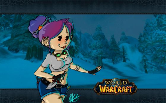 wow: gnome girl by PiTY91