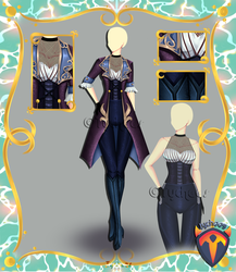 Outfit Adoptable (Auction) #88 CLOSE!!! by Tychees