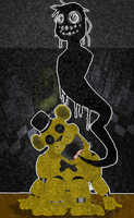 Golden Freddy by Witchdoctor-Wolf