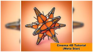 Meta-Star (Cinema 4D Tutorial 111) by NIKOMEDIA