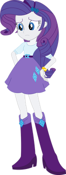 Vector - EqG Rarity by SketchMCreations