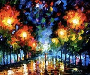 Spectrum Of Feelings by Leonid Afremov by Leonidafremov