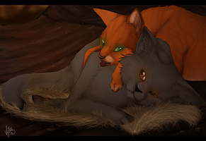 'I wish you'd be my son instead of Brokenstar. by Vyin