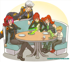 The Lesbros, Cosineau Clan from ZFRP by DarthVengeance0325
