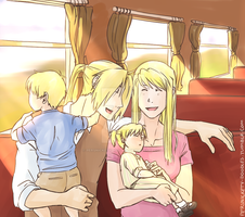 Elric Family by PersnicketyDoodles