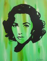 Elizabeth Taylor by LordColinOneal