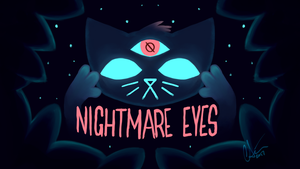 NIGHTMARE EYES by extinctinks